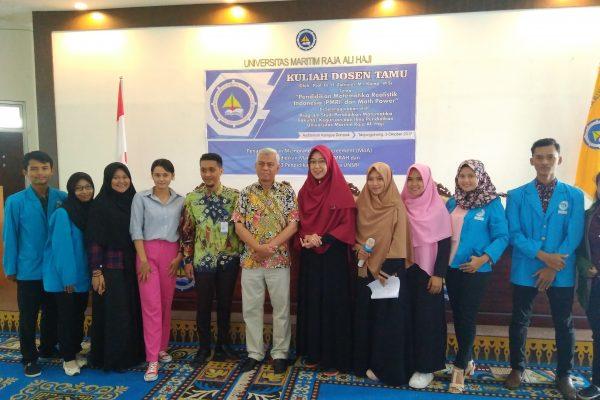 Kegiatan Dosen Tamu Pendidikan Matematika Realistik Indonesia