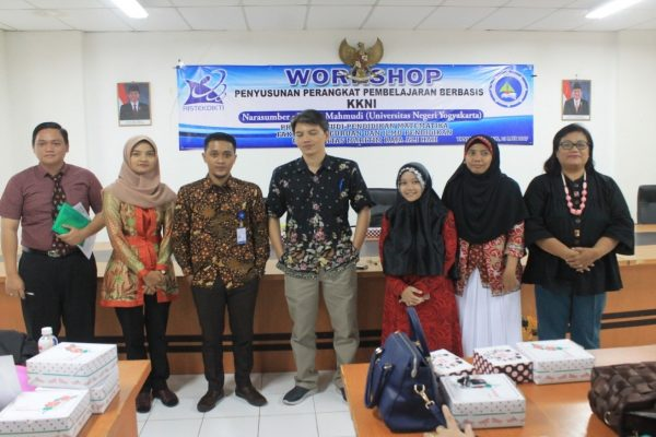 Workshop Penyusunan Perangkat Berbasis KKNI